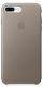 Apple kožený kryt pro iPhone 7 Plus, kouřový