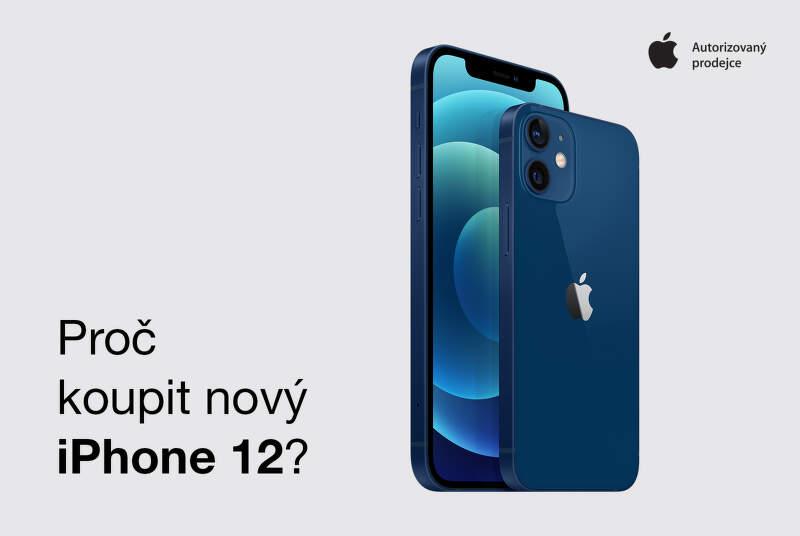 Proč si zakoupit iPhone 12