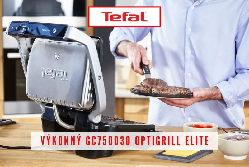 Tefal GC750D30 Optigrill Elite