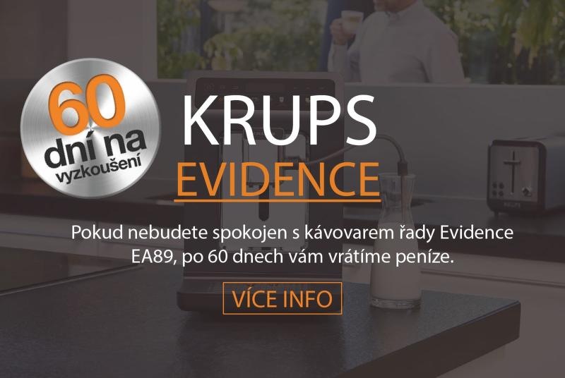 60 dní vrácení peněz na Krups Evidence