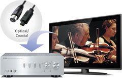 Digitální výstup - Yamaha A-S301