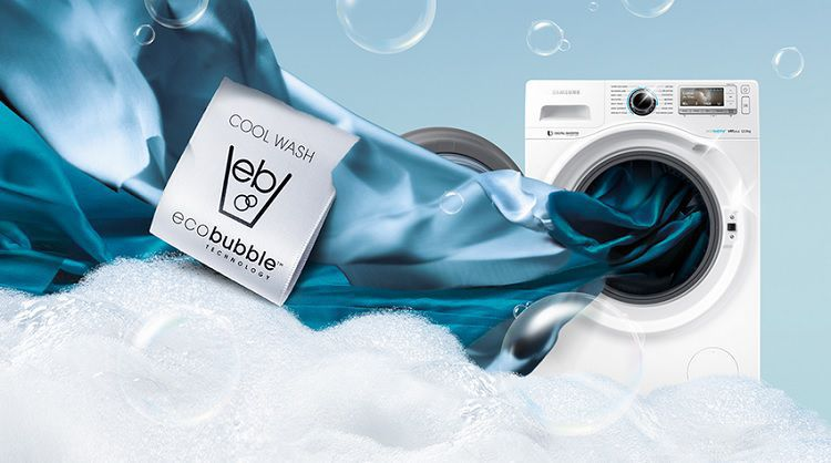Samsung ww12h8400ew le posledn vystaven kus - Technologie eco bubble ...