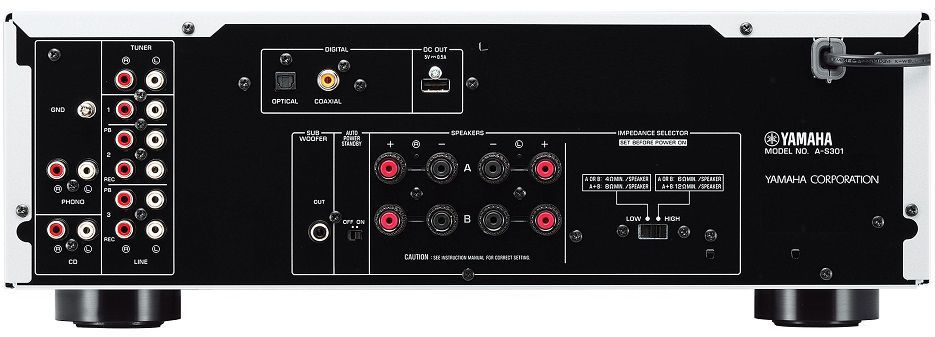 Obecný popis - Yamaha A-S301