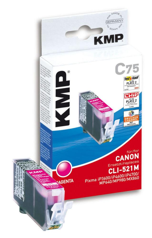 KMP C75 komp.recykl.náplň CLI-521M