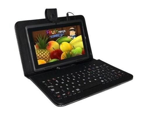"""Aligator pouzdro Tablet 7"""" s klávesnicí microUSB černé"""