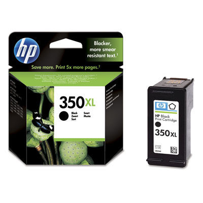 HP CB336EE No.350XL black - atrament