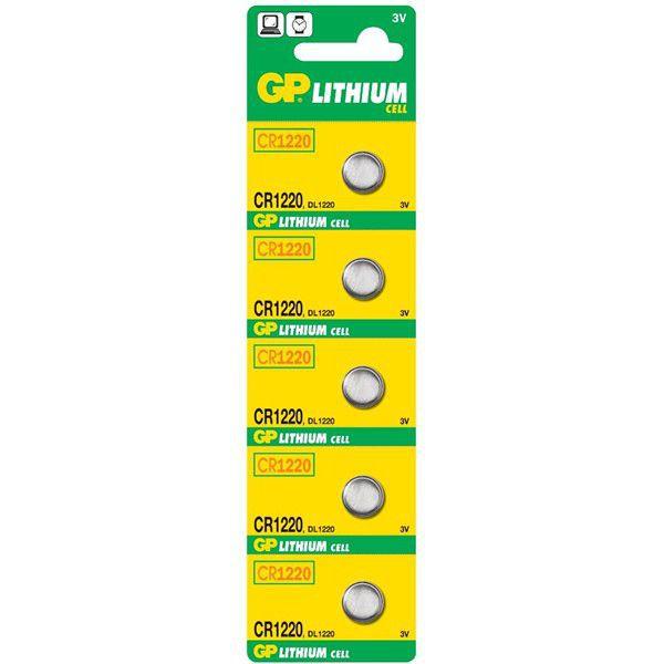 GP Lithium CR1220 (B1520) 3V/36mAh