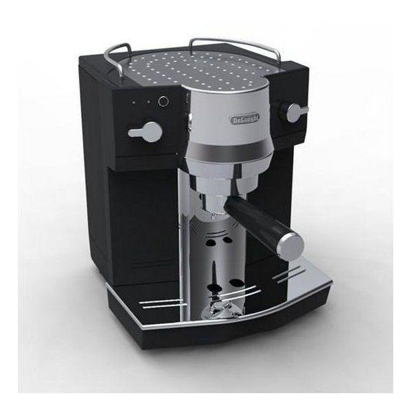 DELONGHI EC 820 (černá) - Pákové espresso