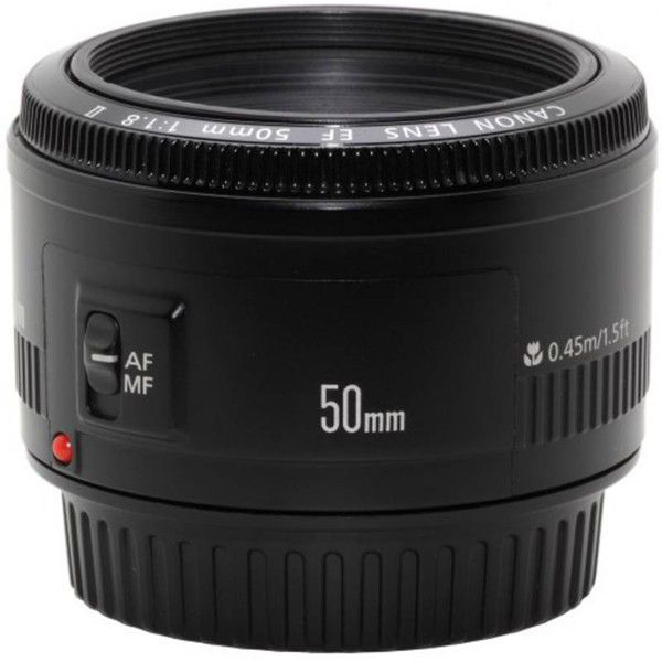 Canon EF 50 mm f/1.8 II - objektiv