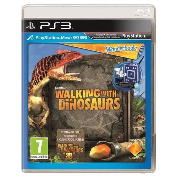 Wonderbook: Walking with Dinosaurs - hra pro PS3