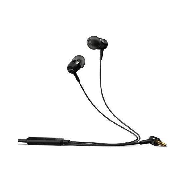 SONY MH750 stereosluchátka s mikrofonem černé