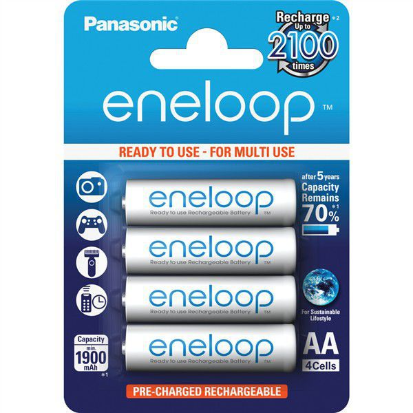Panasonic Eneloop AA 1900 4BP