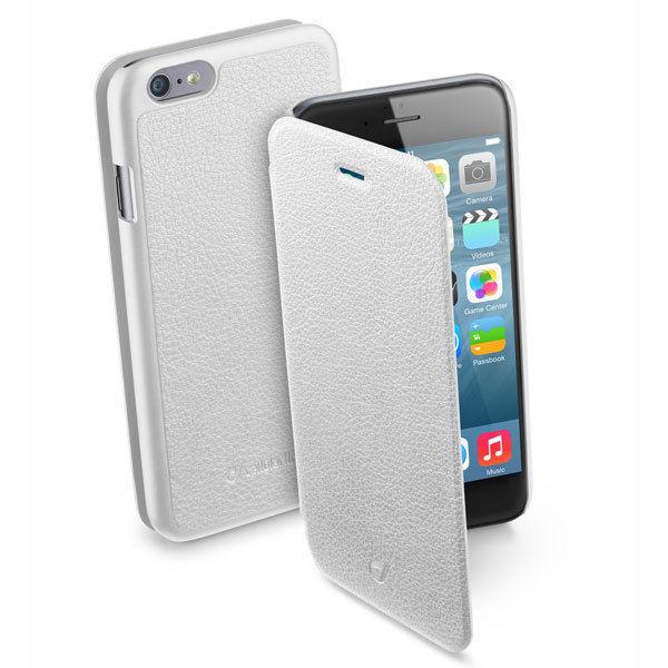 CellularLine Book Essential Pocket pro iPhone 6/6S (bílé)