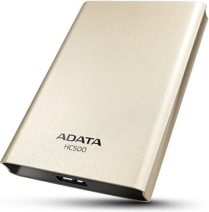 "A-DATA Choice HC500 3,5"" 2TB USB 3.0 zlatý"