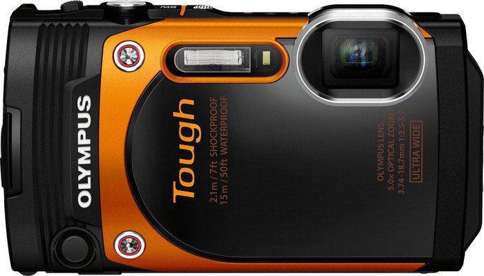 OLYMPUS TG-860 (oranžový) - kompakt