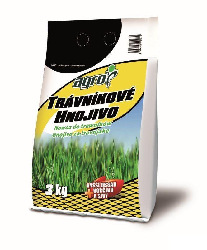 AGRO hnojivo travnikové 3kg