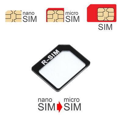 MobilNet adaptér Nano-Micro SIM (Nano SIM-Micro SIM) (černý)