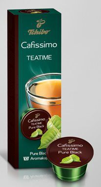Tchibo Cafissimo Teatime Pure Black 20g - kaps. čaj