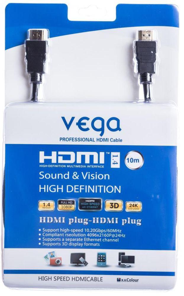 Vega AA-1070 HDMI kabel 10m (černý)