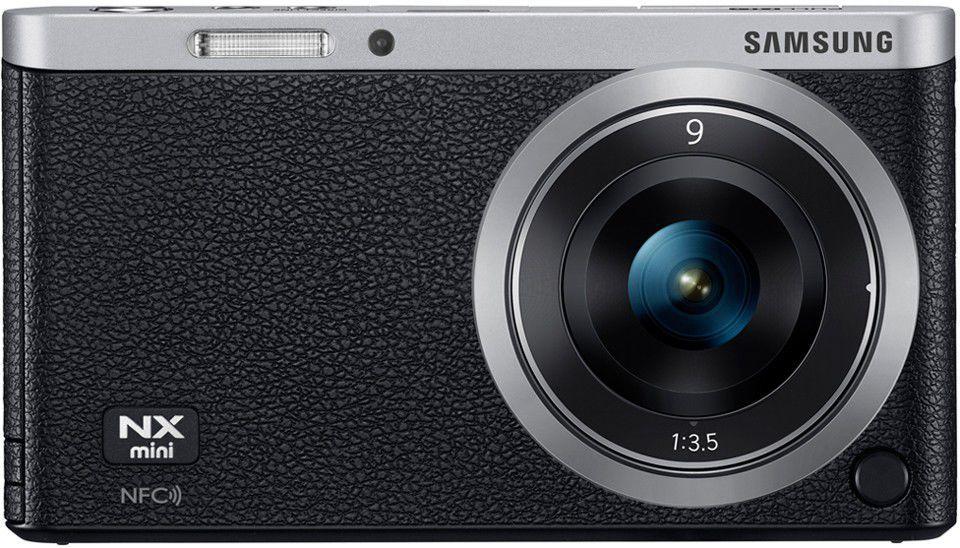 Samsung NX mini + objektiv 9mm (černý)
