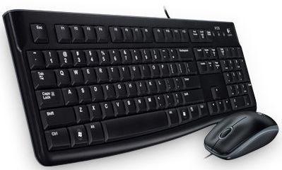Logitech Desktop MK120 - set klávesnice a myši