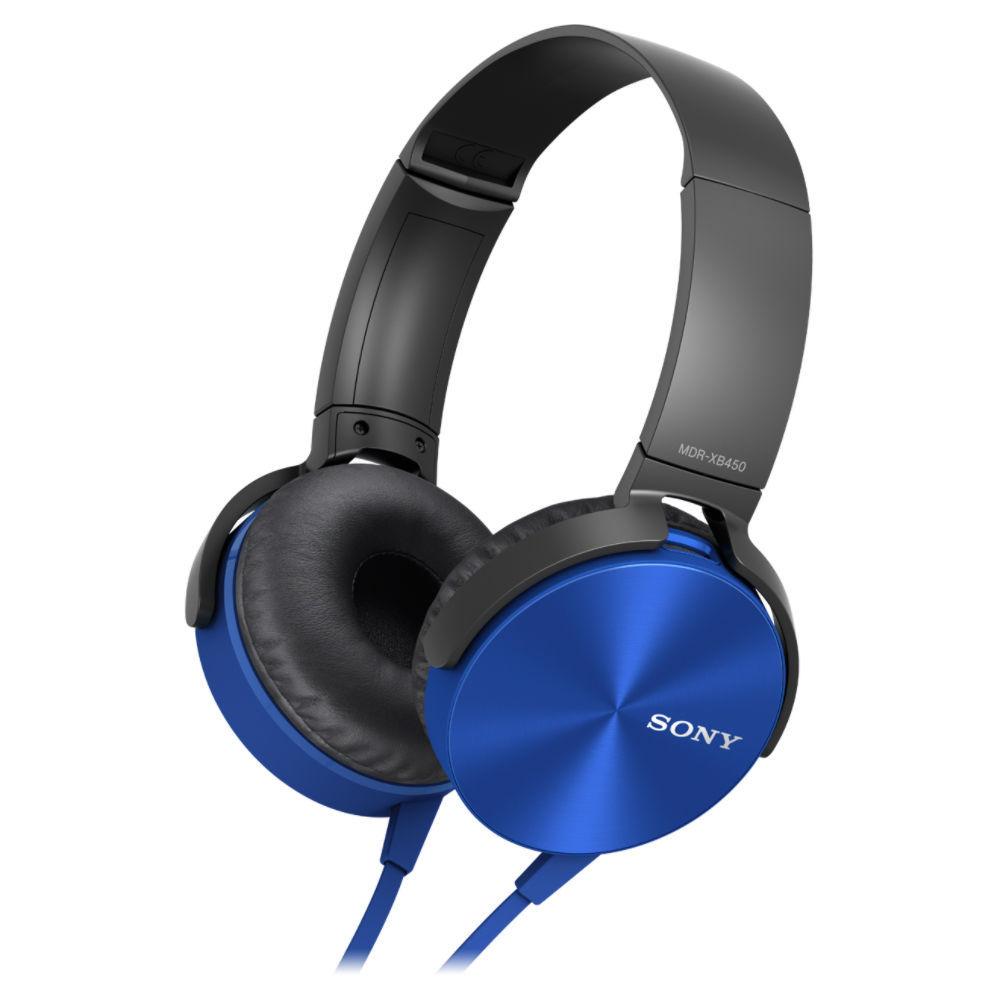 Sony MDR-XB450AP (modrá)