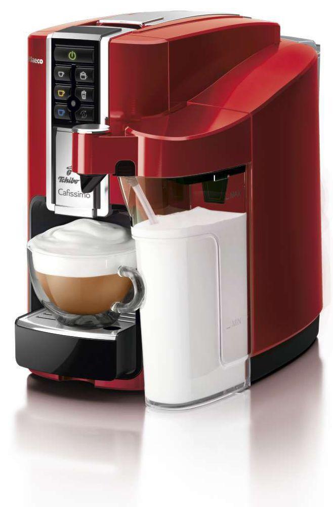 TCHIBO Cafissimo Latte Rosso (červená) - Kapslový kávovar