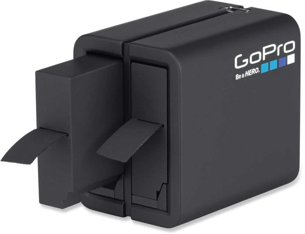 GoPro Dual Battery Charger + Battery Hero 4