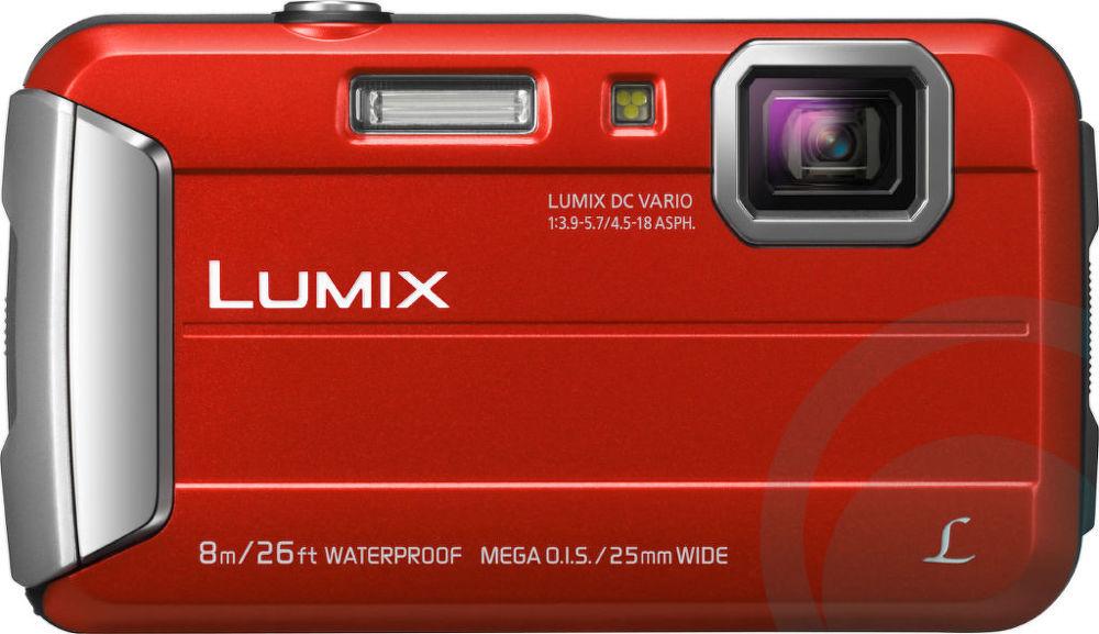 Panasonic Lumix DMC-FT30 (červený)