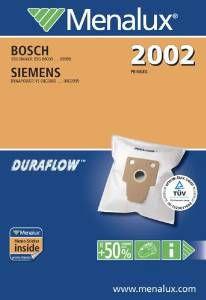 MENALUX 2002 sáčky do vysavače
