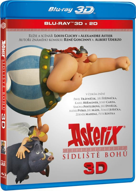 BD Asterix: Sídliště bohů BD (3D+2D)