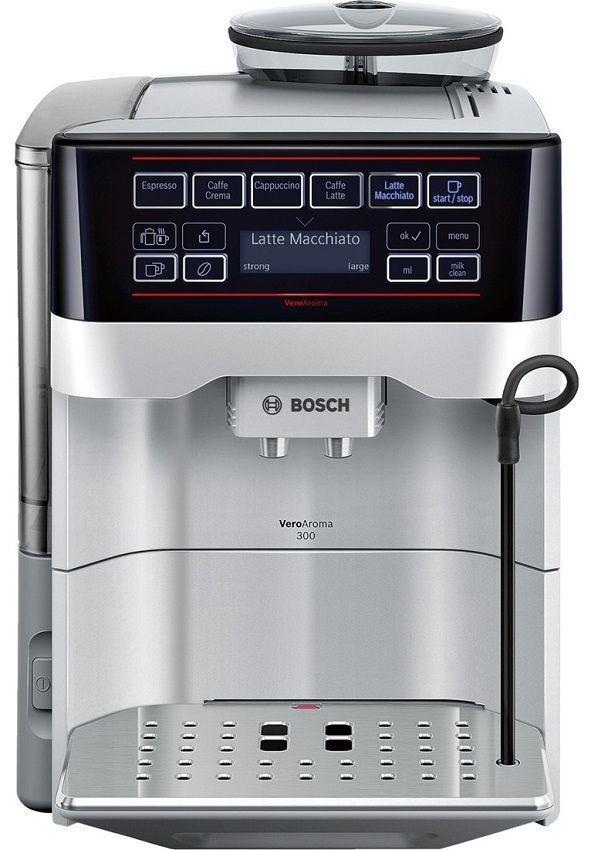 BOSCH TES60321RW VeroAroma (stříbrná) - Automatické espresso