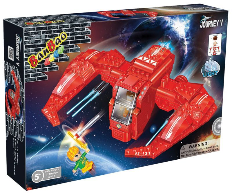 BanBao stavebnice vesmírná loď BB-131