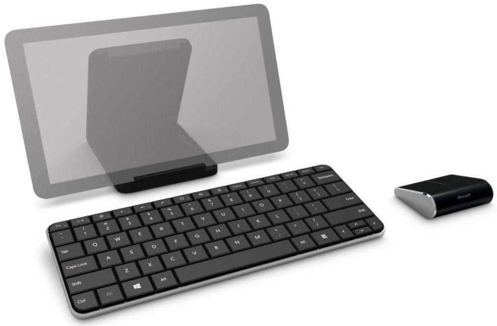 Microsoft Wedge Mobile Keyboard - bezdrátová klávesnice