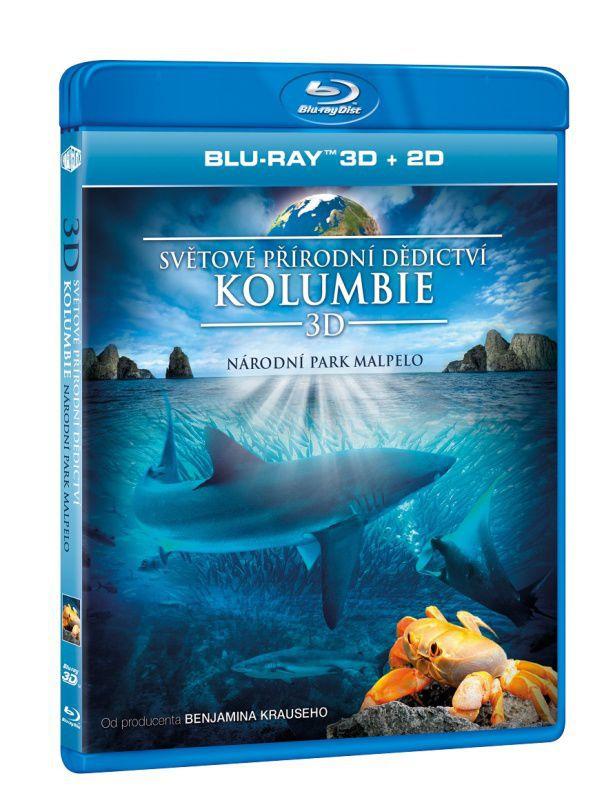 Světové přírodní dědictví: Kolumbie - Národní park Malpelo 3D Blu-ray film