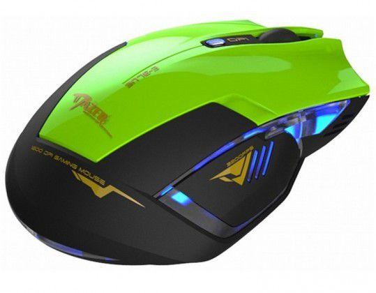 E-BLUE Myš MazerR (zelená)