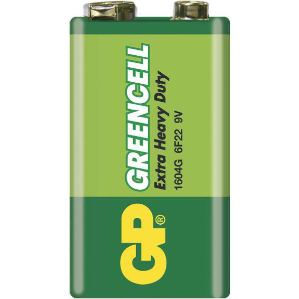 GP Greencell 6F22, 9V, 1 ks