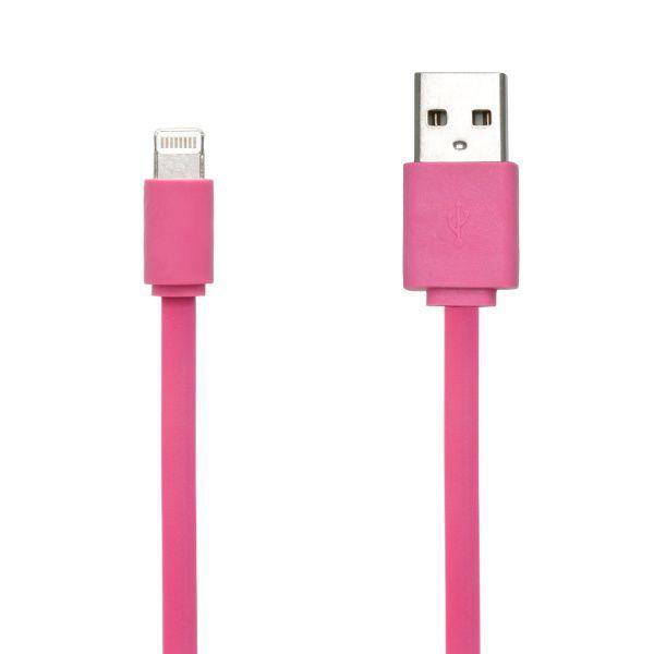 Mobilnet Lightning kabel pro iPhone (růžový)