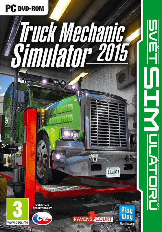 Truck Mechanic Simulator 2015 - hra pro PC