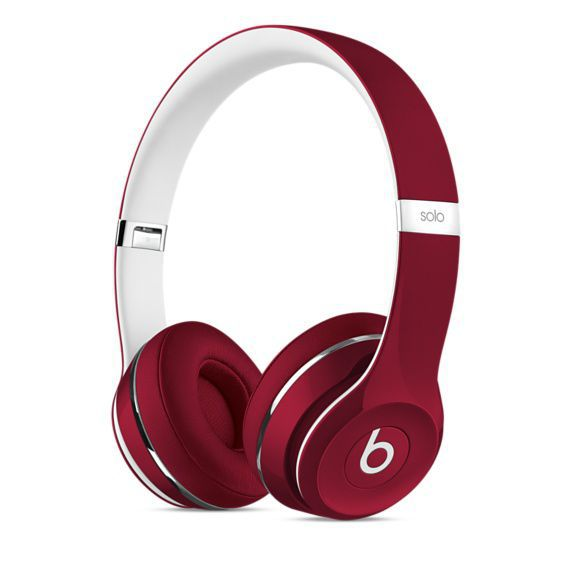 Beats by Dr. Dre Solo2 (Luxe Edition) ML9G2ZM/A (červená)