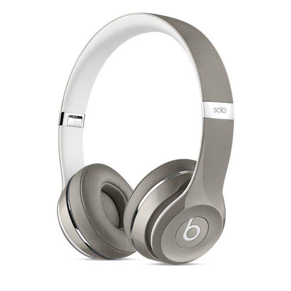 Beats by Dr. Dre Solo2 (Luxe Edition) MLA42ZM/A (stříbrná)