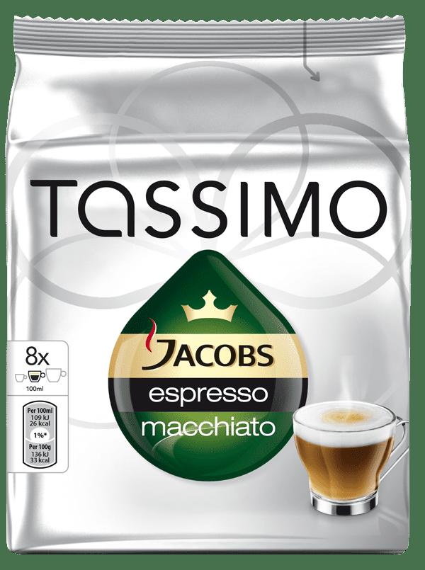TASSIMO Jacobs Espresso Macchiato - kapslová káva
