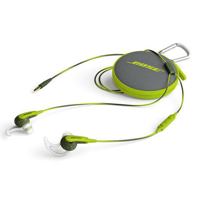 Bose SoundSport in-ear Apple (zelená)