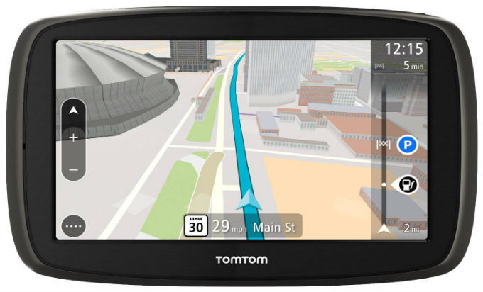 TomTom GO 61 World Traffic Lifetime