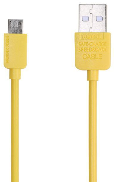Remax AA-1110 - Micro USB kabel (žlutý)