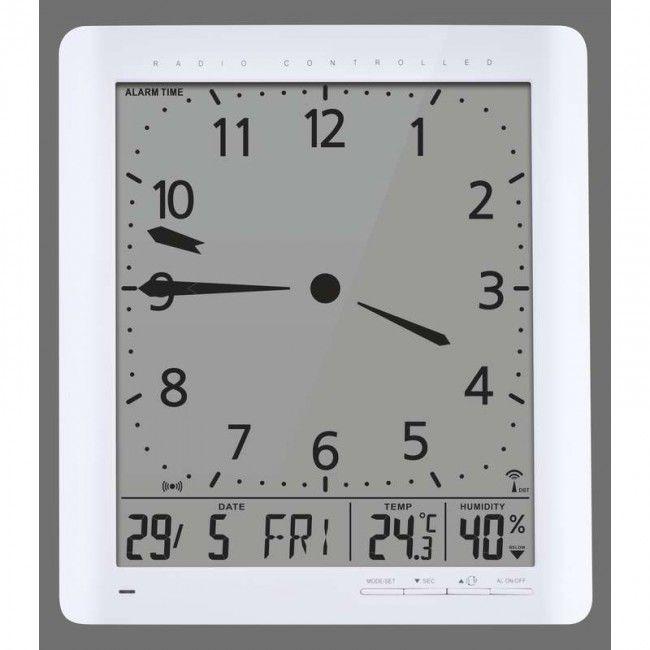 EMOS E9280, hodiny řízené DCF