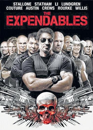 Expendables: Postradatelní - DVD film