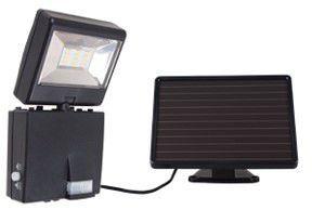 Somogyi 6923H - LED reflektor se solárním panelem a senzorem pohybu