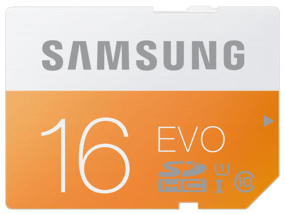 Samsung 16 GB SDHC EVO Class 10
