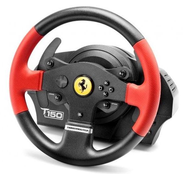 Thrust Master T150 Ferrari, 4160630 - volant a pedále (PC, PS3, PS4)